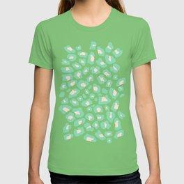 Leopard Print 2.0 - Neo Mint T-shirt