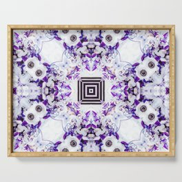 Anemone Fusion Serving Tray