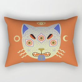 Mystic Cat Rectangular Pillow