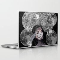 bjork Laptop & iPad Skins featuring Bjork by Luna Portnoi