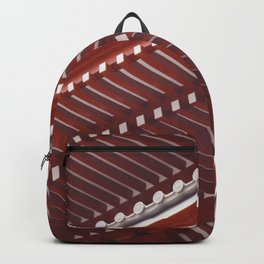 Pagoda roof pattern Backpack