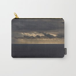Sun breaks through the Clouds Over the Sea Carry-All Pouch