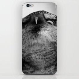 Owl series no.5 iPhone Skin