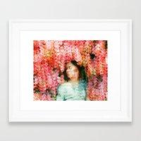 mercedes Framed Art Prints featuring Mercedes Esquivel  by parkerwoods