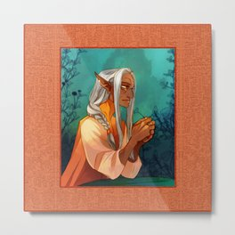 Gia the Midwife Metal Print