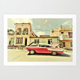 Trinidad Edsel Art Print