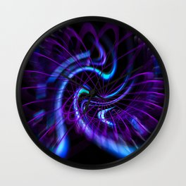 Abstract in Perfection - Magic of the circle  Wall Clock