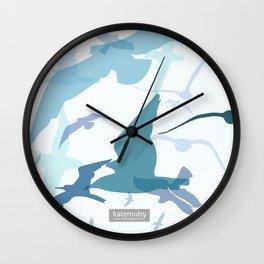 Seaside Birds Wall Clock