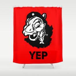 Ducky Guevara (Yep Yep Yep - Land Before Time) Shower Curtain