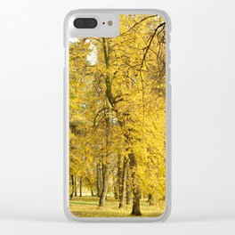 Art of Fall Clear iPhone Case