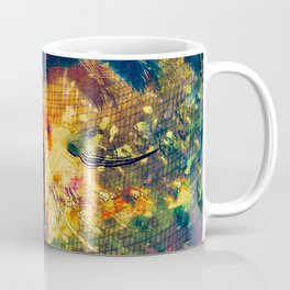Portrait of a Woman: We Are Flowers Coffee Mug