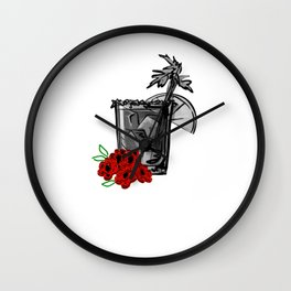 Bloody Mary Just a Girl Who Loves Bloody Marys Wall Clock