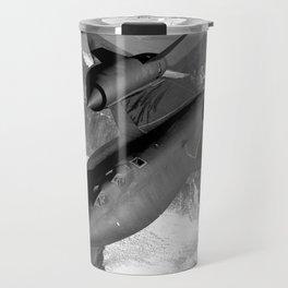 SR-71 Blackbird Flying Travel Mug