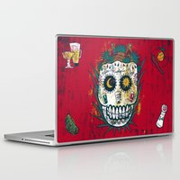 tequila Laptop & iPad Skins featuring Tequila by Jorge Garza