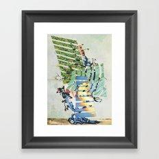 witness to gone Time Framed Art Print
