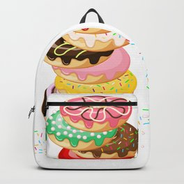 Stack of Donuts Backpack