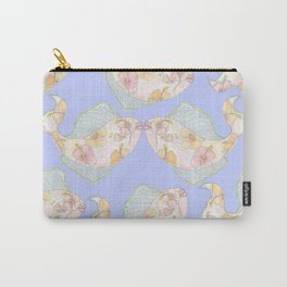 Tropical Kissing Fish Carry-All Pouch