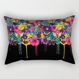 Flowers Melting Rectangular Pillow