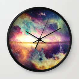 Tsunami Wall Clock