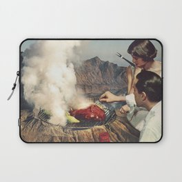 On A Good Day - Volcano BBQ Laptop Sleeve