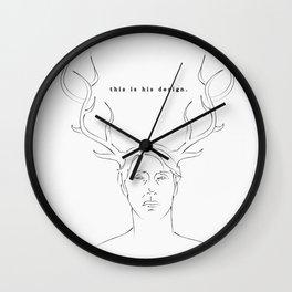 [ Hannibal ] Doctor Lecter Wall Clock
