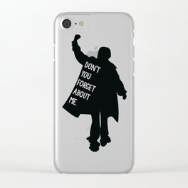 The Breakfast Club Clear iPhone Case