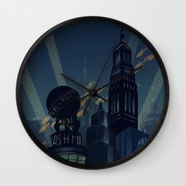 No Gods, No Kings, Only Man Wall Clock