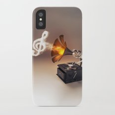 let the music play (just keep the groove) iPhone X Slim Case