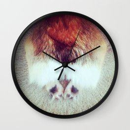 Corgi Butt Wall Clock