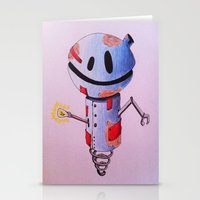robot Stationery Cards featuring Robot by Ciotti