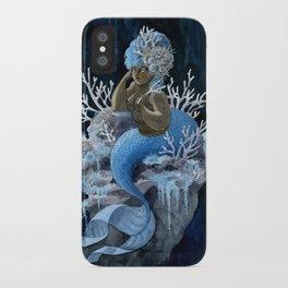 Antler Coral Mermaid iPhone Case