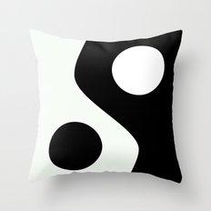 Yin Yang 2 Throw Pillow