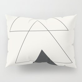 Minimal Geometric Art 02 Pillow Sham