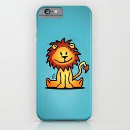 Cute little lion iPhone Case
