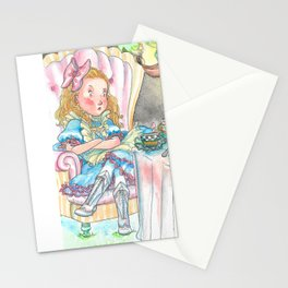 Alice's Mad Tea Party Stationery Cards