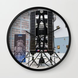 1789. Commercial Lunar Payload Services Announcement (NHQ201905310022) Wall Clock