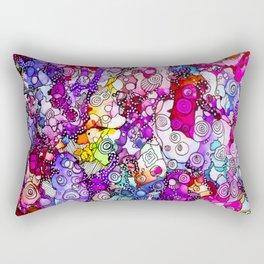 Heavenly Doodles  - Many Eyes Version 2 Rectangular Pillow