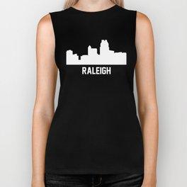 Raleigh North Carolina Skyline Cityscape Biker Tank