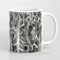Split Leaf Philodendron - Black Mug