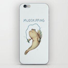 Mudskipping iPhone Skin