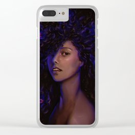 FREE DA HAIR Clear iPhone Case
