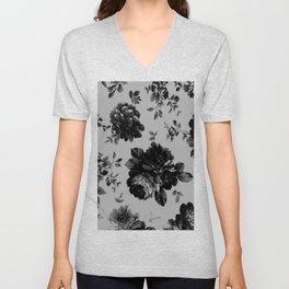 Gothic Floral Unisex V-Neck