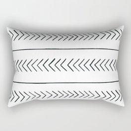 Arrows & Lines Rectangular Pillow