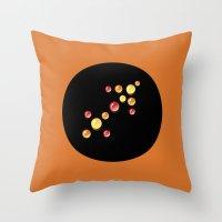 sagittarius Throw Pillows featuring Sagittarius by rusanovska