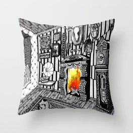 Step in# Throw Pillow
