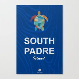 South Padre Island. Canvas Print