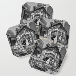 Times Square III Special Edition I (black & white) Coaster