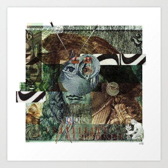 51 DM Collage Art Print