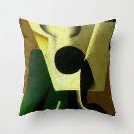 "Juan Gris ""Still Life with a Glass"" Throw Pillow"