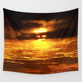 The Light Bandit - Sun Wears a Mask   Wall Tapestry